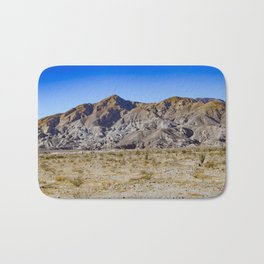 Looking Back towards Granite Mountain across the Highway in the Anza Borrego Desert State Park Bath Mat