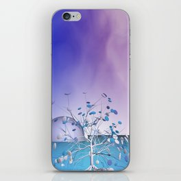 window curtain - candytree iPhone Skin
