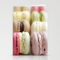 macaron Stationery Cards featuring macaron by Susigrafie