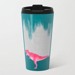 DinoRose - pinky tyrex Travel Mug
