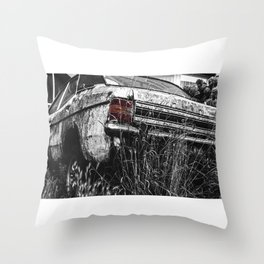 The Old Girl Throw Pillow