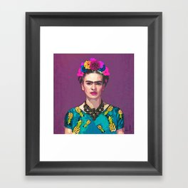 Trendy Frida Kahlo Framed Art Print