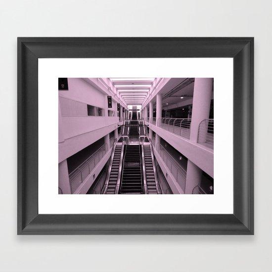 Esclator Framed Art Print