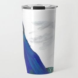 A Peacock Named Baby Boy Travel Mug