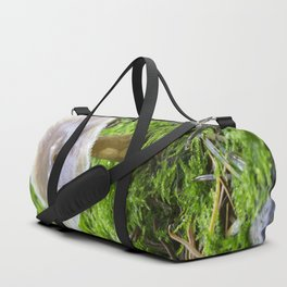 Fungi and moss Duffle Bag