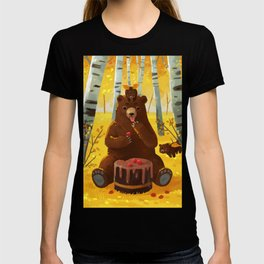 Chocolate cake and the bears T-shirt