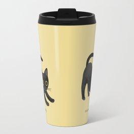 Black Bombay Travel Mug