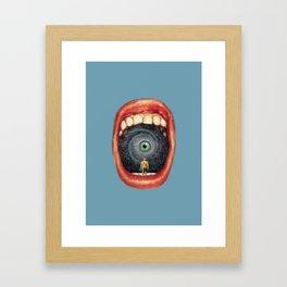 Veritas Framed Art Print