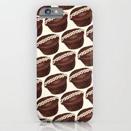 Cupcake Pattern iPhone Case