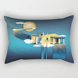 Castle in Heaven Rectangular Pillow