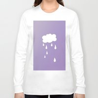 cloud Long Sleeve T-shirts featuring Cloud by SueM