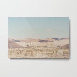 red rock canyon in California ... Metal Print