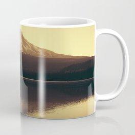 Sunrise at Trillium Lake - Oregon Adventure Coffee Mug