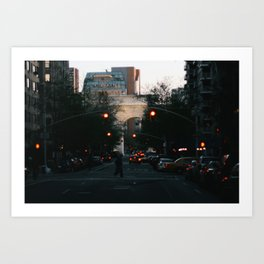 Washington Square Park Lights Art Print