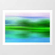 EARTH POEM Art Print