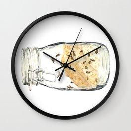 Captives: The Bee Jar Wall Clock