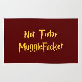 Not Today MuggleFucker Rug