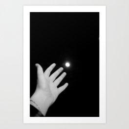 romantic gesture Art Print