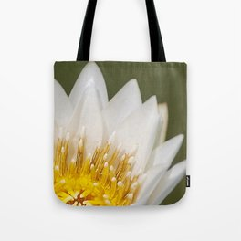 Golden Lotus Tote Bag