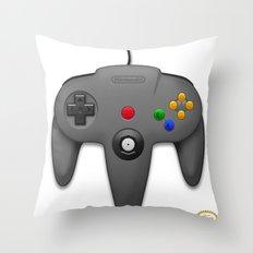 Nintendo 64 Throw Pillow