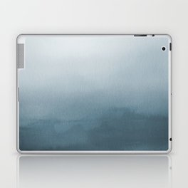 Behr Blueprint Blue S470-5 Abstract Watercolor Ombre Blend - Gradient Laptop & iPad Skin
