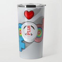 Candy PLUR 3D Travel Mug