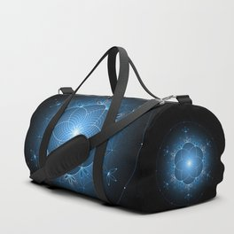 Ice space | Sacred geometry Duffle Bag