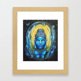 Buddha's Vision Framed Art Print