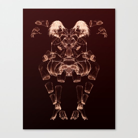 The Beast Inside 2 Canvas Print