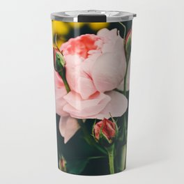 Flower in the wind Travel Mug