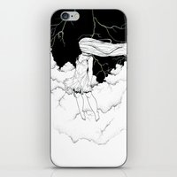 storm iPhone & iPod Skins featuring Storm by  Louie