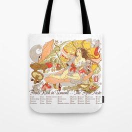 The Fifth Taste: Umami Tote Bag