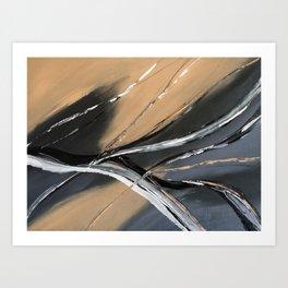 Gale Force Winds Art Print