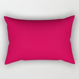 Cool Caddy ~ Fire Engine Red Rectangular Pillow