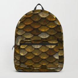 Gold Mermaid Scales Backpack