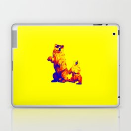 Ours Republique yellow Laptop & iPad Skin