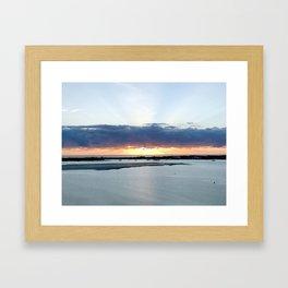Sunrise on the GC Framed Art Print