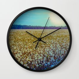 Rising Cotton Wall Clock
