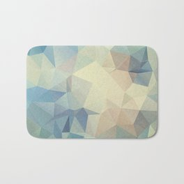 Abstract polygonal 2 Bath Mat