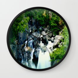 Triplet Falls Wall Clock