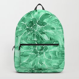 The Smell of Spring 3 / Monochrome / Green Backpack