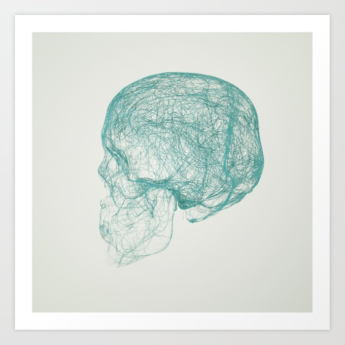 skull trails Art Print