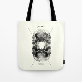 Two-Faced People Tote Bag