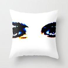 Lugosi's Eyes Throw Pillow