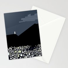 Caracas City at Night by Friztin Stationery Cards