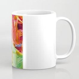 Fluo Feathers Coffee Mug