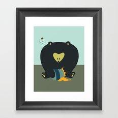 HunnyBear Framed Art Print