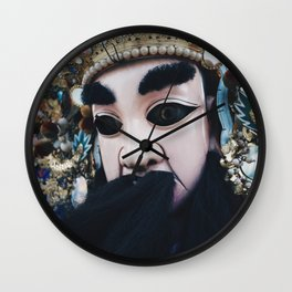mask Wall Clock