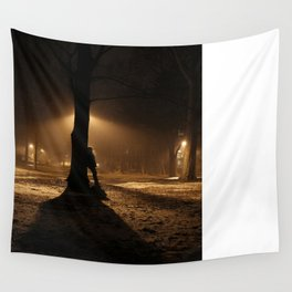 Foggy in My Mind Wall Tapestry
