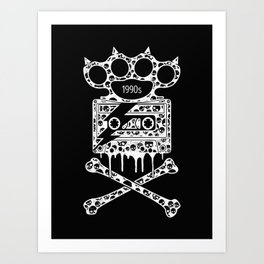 Alternative Rock Art Print